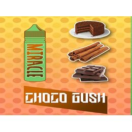 Choco Gush, 0 мг (Без никотина). MIRACLE. 60 мл.