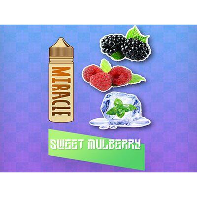 Sweet Mulberry, 3 мг (Ультралегкая).MIRACLE. 60 мл.