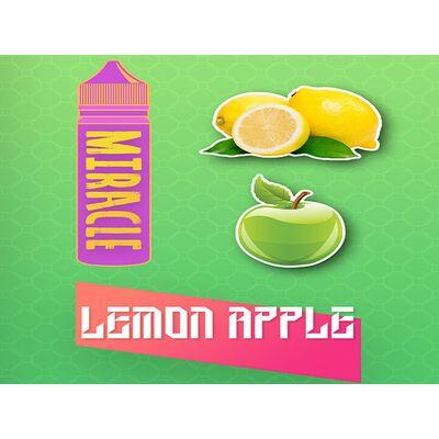 Lemon Apple, 1.5 мг (Ультралегкая). MIRACLE. 60 мл.