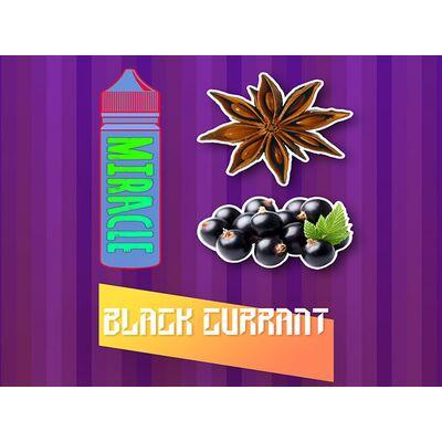 Black Currant, 0 мг (Без никотина). MIRACLE. 60 мл.