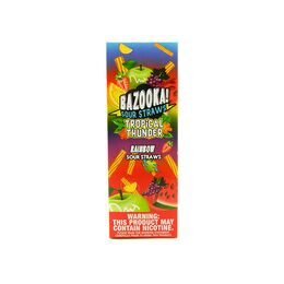 Rainbow Sour Straws, 3 мг (Ультралёгкая). Bazooka Vape. 100 мл.