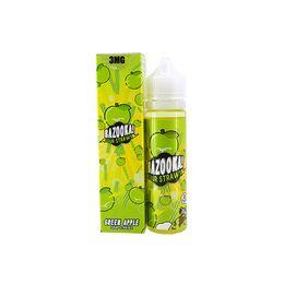 Green Apple Sour Straws, 3 мг (Ультралегкая). Bazooka Vape. 60 мл