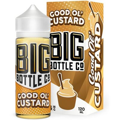 Good Ol' Custard, 3 мг (Ультралегкая). Big Bottle Co. 120 мл.