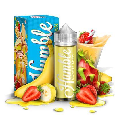 Donkey Kahn, 0 мг (Без никотина). Humble Juice Co. 120 мл.