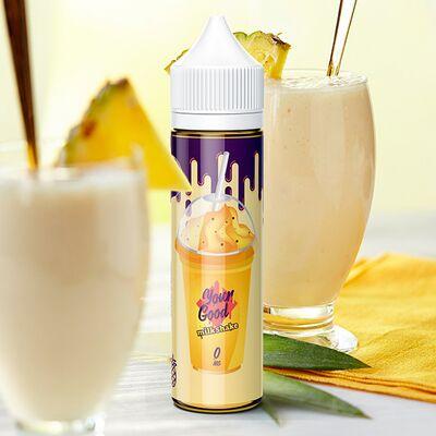 Pineapple Milkshake, 1,5 мг (Ультралегкая), YOUR GOOD Juice. 60 мл.
