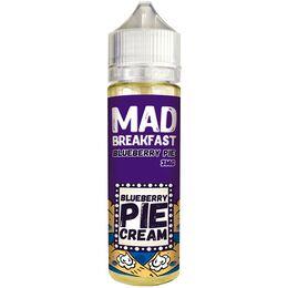 Blueberry Pie, 3 мг (Ультралегкая). Mad breakfast. 60 мл