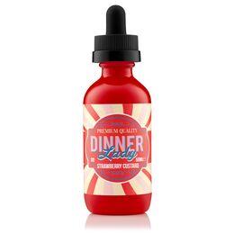 Dinner Lady, 3 мг (Ультралегкая) Strawberry Custard. 60 мл.