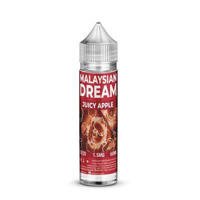 Juicy Apple, 0 мг (без никотина). Malaysian Dream. 60 мл.