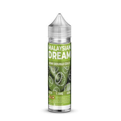 Kiwi Double Cold, 0 мг (без никотина). Malaysian Dream. 60 мл.