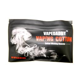 Vaping Cotton органический коттон VapeDaddy. Вата для пермотки. 0.35 Oz (10 грамм.)