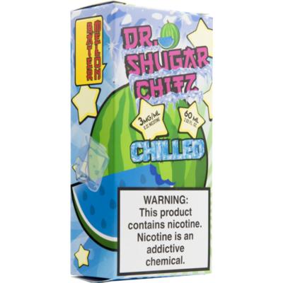 Batermelon Chilled!, 6 мг. Dr.Sugar Chitz. 60 мл.