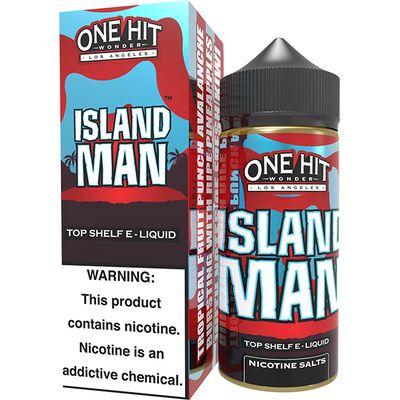 Island Man, 3 мг. One Hit Wonder eLiquid. 100 мл.