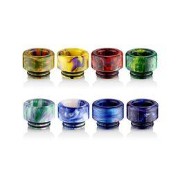 Дрип тип, мундштук акриловый Smok TFV8, TFV12, Kennedy resin