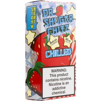 Strawbert Chilled!, 0 мг (без никотина). Dr.Sugar Chitz. 60 мл.