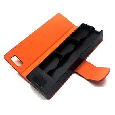 E-Bossvape зарядное устройство кейс Power Bank для Ju, 1200 mAh, Оранжевый