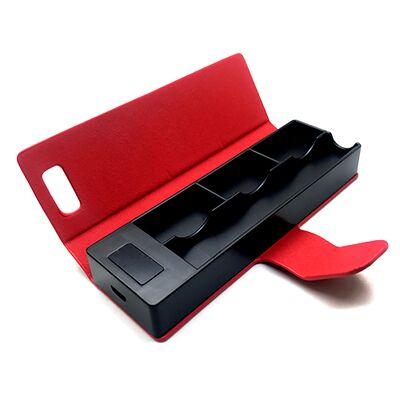 E-Bossvape зарядное устройство кейс Power Bank для Ju, 1200 mAh, Красный