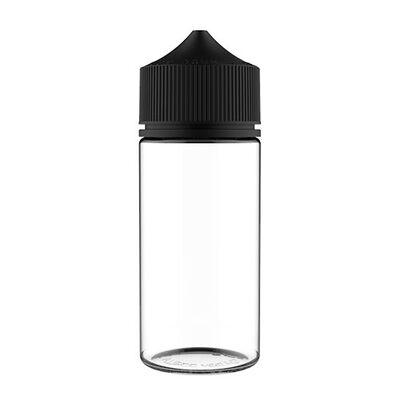 Бутылочка с носиком карандаш Unicorn Chubby V3, PET, 100 мл. черная крышка