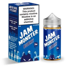 Blueberry, 3 мг. Jam Monster eJuice. 100 мл.