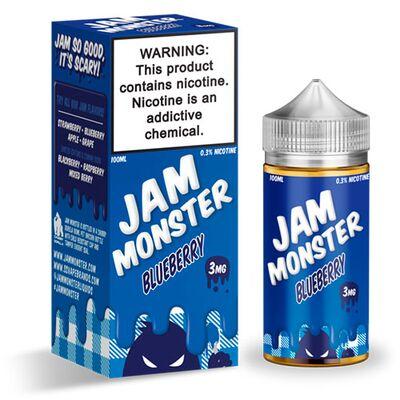 Blueberry, 3 мг. Jam Monster. 100 мл.