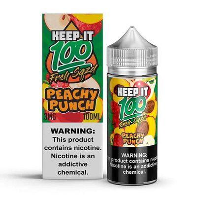 Peachy Punch, 3 мг. Keep It 100. 100 мл.