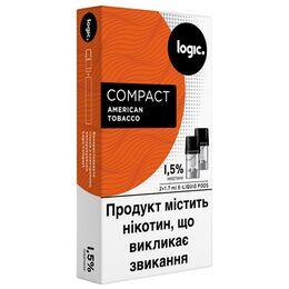 Картридж Logic Compact, American Tobacco, 29 мг