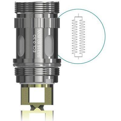 (Sub-Ohm) Испаритель ECL для клиромайзера Eleaf Pico, Melo 2, iJust 2 SS - 0.3 Ом
