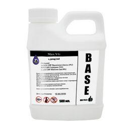 База, Основа для приготовления жидкостей Max VG, 1.5 мг\мл (Ультралегкая) 500 мл. Канистра