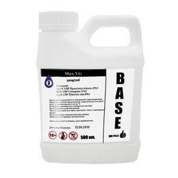 База, Основа для приготовления жидкостей Max VG, 3 мг\мл (Ультралегкая) 500 мл. Канистра